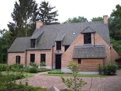 Bouwwerken gabri ls schilde realisaties nieuwbouw for Landelijke villa bouwen