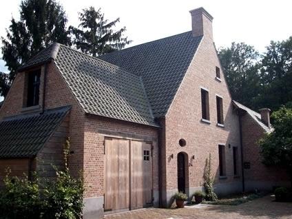 Bouwwerken gabri ls schilde realisaties nieuwbouw renovatie en eigen bouwprojecten - Stijl eengezinswoning ...